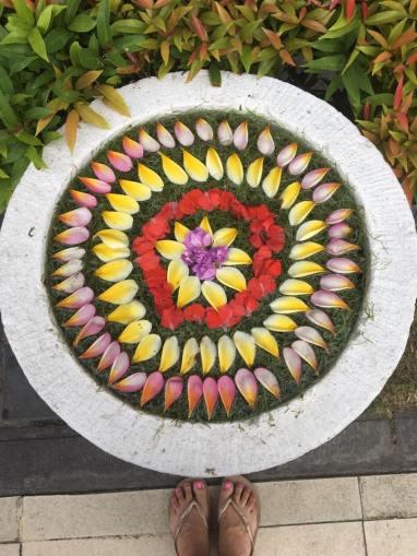 bali flower mandala